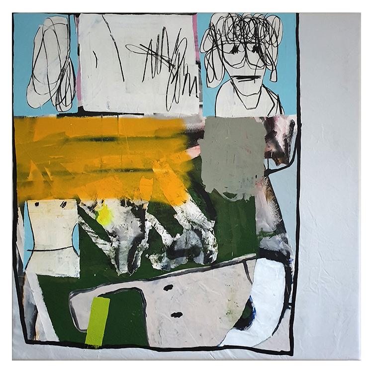 White - IISHOO Contemporary Art Agency - Taylor Anton White - Oh Tay Tay