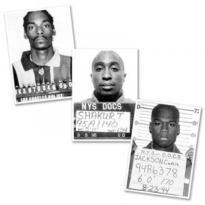 AC20201206 IISHOO ArtCARDS Mugshots Series 1 Snoop Dogg Tupac 50 Cent