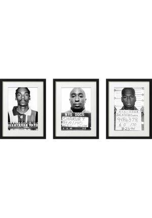 AC20201206 IISHOO ArtCARDS Mugshots Series 1 Snoop Dogg Tupac 50 Cent