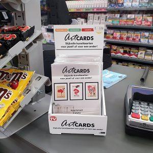 ArtCARDS Toonbank Display DP20201201 IRL Setting 1